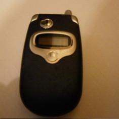 Motorola V300 - 59 lei - Telefon Motorola, Albastru, <1GB, Neblocat, Fara procesor, Nu se aplica