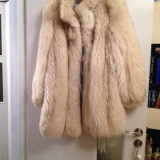 Haina de blana vulpe polara, Marime: 44