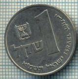 4255  MONEDA  - ISRAEL  - 1 SHEQEL  - anul  1981 ?  -starea care se vede