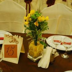 Vaza din sticla transparenta - Vaza si suport flori