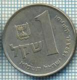 4264  MONEDA  - ISRAEL  - 1 SHEQEL  - anul  1981 ?  -starea care se vede