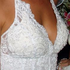 Rochie mireasa scurta - Rochie scurta de mireasa