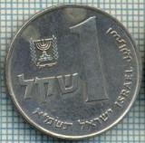 4253  MONEDA  - ISRAEL  - 1 SHEQEL  - anul  1981 ?  -starea care se vede