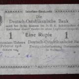 (M) German East Africa - Bancnota 1 Rupie - 1 februarie 1916