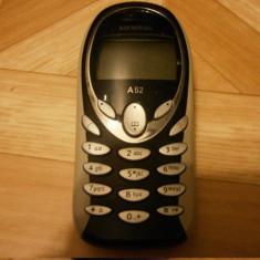 Siemens A52 - 49 lei - Telefon mobil Siemens, Negru, <1GB, Neblocat, Fara procesor, Nu se aplica