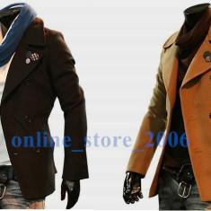 Blazer Palton Jacheta Slim-Fit Gen ZARA - Palton barbati, Marime: XL, Culoare: Negru