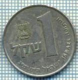 4265  MONEDA  - ISRAEL  - 1 SHEQEL  - anul  1983 ?  -starea care se vede