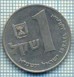 4243  MONEDA  - ISRAEL  - 1 SHEQEL  - anul  1981 ?  -starea care se vede