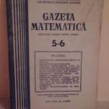 Gazeta Matematica 5*6 - Roman