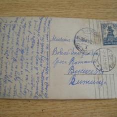 AB9 - CARTE POSTALA FOARTE VECHE - EXPEDIATA DIN POLONIA - CIRCULATA IN 1932, Printata