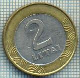 4354  MONEDA  - LITUANIA  - 2 LITAI  - 1999 -BIMETAL -starea care se vede