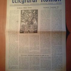 Ziarul telegraful roman 1 iunie 1981-foaie religioasa ortodoxa a sibiului