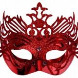 Masca party rosie, masca carnaval - Costum petrecere copii