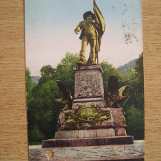 AB9 - CARTE POSTALA FOARTE VECHE - AUSTRIA - INSBRUK - CIRCULATA LA 1928, Printata