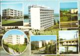 CPI (B3616) NEPTUN, HOTELURILE: TOMIS, MIDIA, SULINA, DOBROGEA, DECEBAL, CRAMA NEPTUN, CIRCULATA, 1975, STAMPILE, TIMBRU