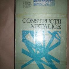 Constructii metalice-C.Dalban,N.Juncan,C.Serbanescu,Al.Varga,S.Dima