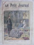 """ULTIMELE ZILE ALE TARULUI RUSIEI ALEXANDRU III - IMAGINI IMPREUNA CU FIUL SAU VIITORUL TAR NICOLAE II - ZIARUL """"LE PETIT JOURNAL"""" 5 NOV 1894- 8 PAGINI"""