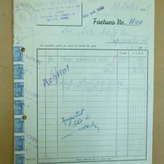 Factura Lupu Wolfsohn Materiale de constructii Bucuresti 1948 - Hartie cu Antet