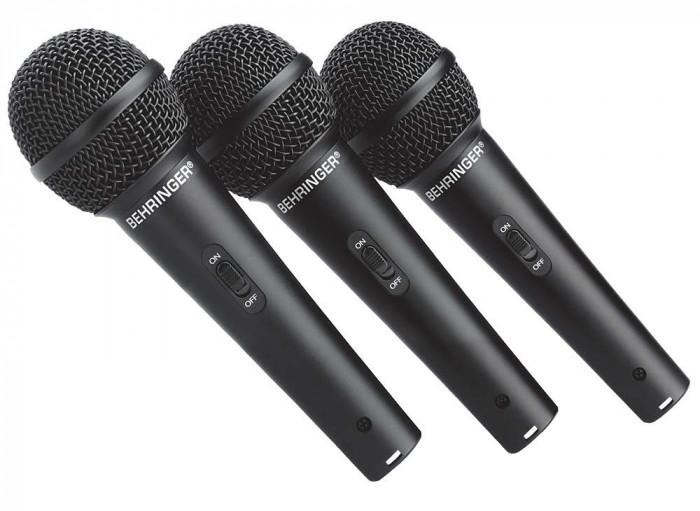 Set 3 microfoane cu fir Behringer XM1800S foto mare