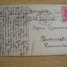 AB9 - CARTE POSTALA FOARTE VECHE - EXPEDIATA DIN POLONIA - CIRCULATA IN 1931, Printata