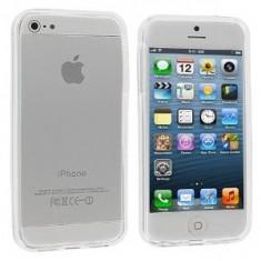 Bumper alb transparent Iphone 5C 5 C + folie protectie ecran + expediere gratuita Posta - sell by Phonica - Bumper Telefon
