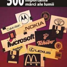 Cele mai importante 500 de marci (branduri) ale lumii.de la Adidas la Zippo