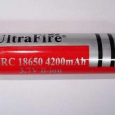 Acumulator UltraFire 18650 3.7V laptop, bormasina lanterna laser led