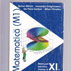 MATEMATICA [M1] -MANUAL PENTRU CLASA -A 11-A - Manual scolar, Clasa 11