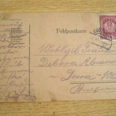 AB9 - CARTE POSTALA FOARTE VECHE - EXPEDIATA DIN AUSTRIA - CIRCULATA LA 1918, Printata