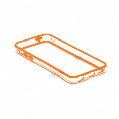 Bumper portocaliu transparent Iphone 5C 5 C +  folie protectie ecran + expediere gratuita Posta - sell by Phonica