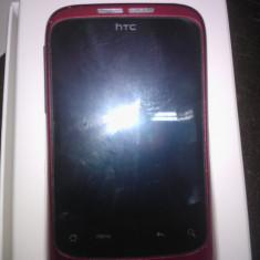 Schimb htc wildfire red liber de retea - Telefon mobil HTC Wildfire, Rosu, Neblocat