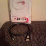 Cablu date micro USB nou,nefolosit,marca Telcetera,cumparat de la Germanos,ieftin.