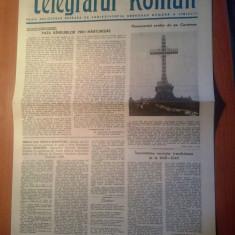 Ziarul telegraful roman 15 iulie 1989