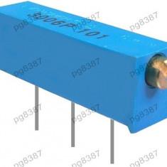 Semireglabil multitura, 200K, implantare orizontala - 161110