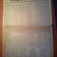 Ziarul telegraful roman 15 octombrie 1990