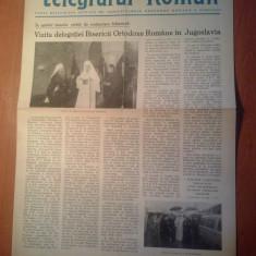 Ziarul telegraful roman 15 octombrie 1981-foaie editata de ariepiscopia sibiului