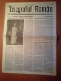 Ziarul telegraful roman 1 aprilie 1990-foaie editata de ariepiscopia sibiului