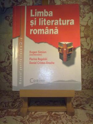 Eugen Simion - Limba si literatura romana Manual pentru clasa a XI a foto