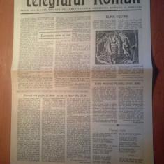 Ziarul telegraful roman 15 martie 1990-foaie editata de ariepiscopia sibiului )