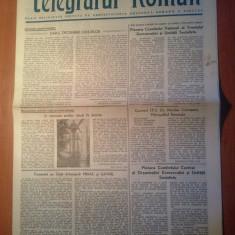 Ziarul telegraful roman 1 noiembrie 1989-foaie editata de arhiepiscopia sibiului