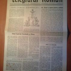 Ziarul telegraful roman 15 mai 1990 - foaie editata de arhiepiscopia sibiului