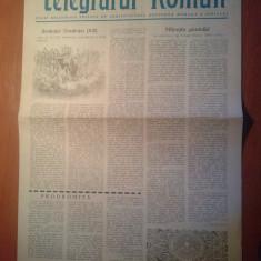 Ziarul telegraful roman 15 august 1981 -foaie editata de arhiepiscopia sibiului