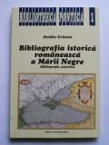 CARTE BIBLIOGRAFIA ISTORICA ROMANEASCA A MARII NEGRE,BUCURESTI/ CONSTANTA, 1996