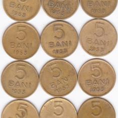 5 bani 1953 - Moneda Romania
