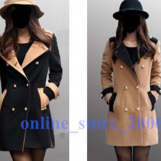 Palton de Dama gen Dior. - Palton dama, Marime: XS/S, Culoare: Maro