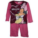 Pijamale fetite Disney Minnie 2 ani - 6 ani bumbac/Pijamale groase 2 3 4 5 6 ani