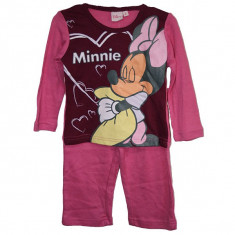 Pijamale fetite Disney Minnie 2 ani - 6 ani bumbac/Pijamale groase 4 5 6 ani