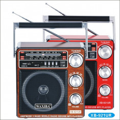 Radio cu MP3/USB/SD WAXIBA XB-921UR WORLD RECEIVER