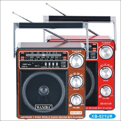 Radio cu MP3/USB/SD WAXIBA XB-921UR WORLD RECEIVER foto