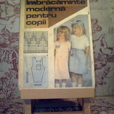 Ana Popescu - Imbracaminte moderna pentru copii - Carte design vestimentar